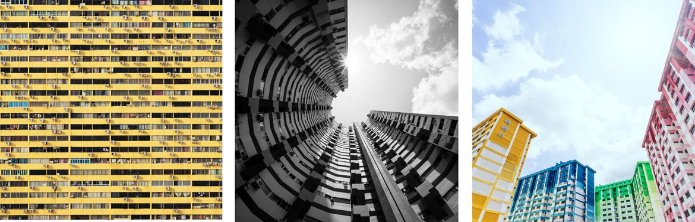 Singapore HDBs