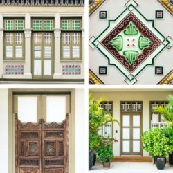 beige houses