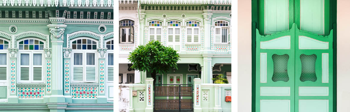 Green Shophouses
