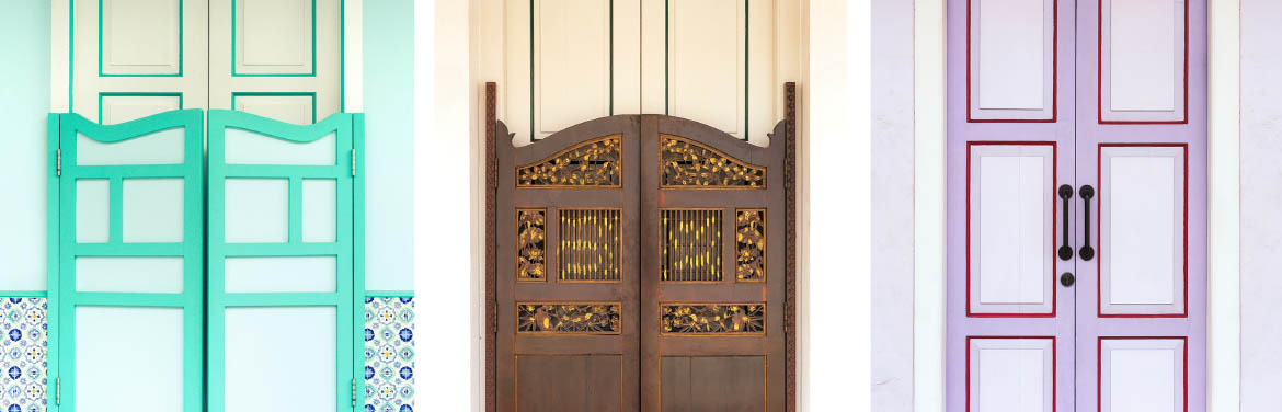 Shophouse Doors