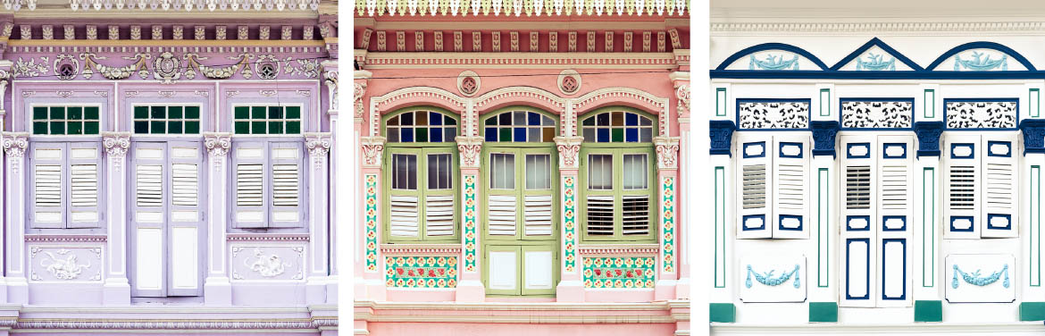 Shophouse Windows