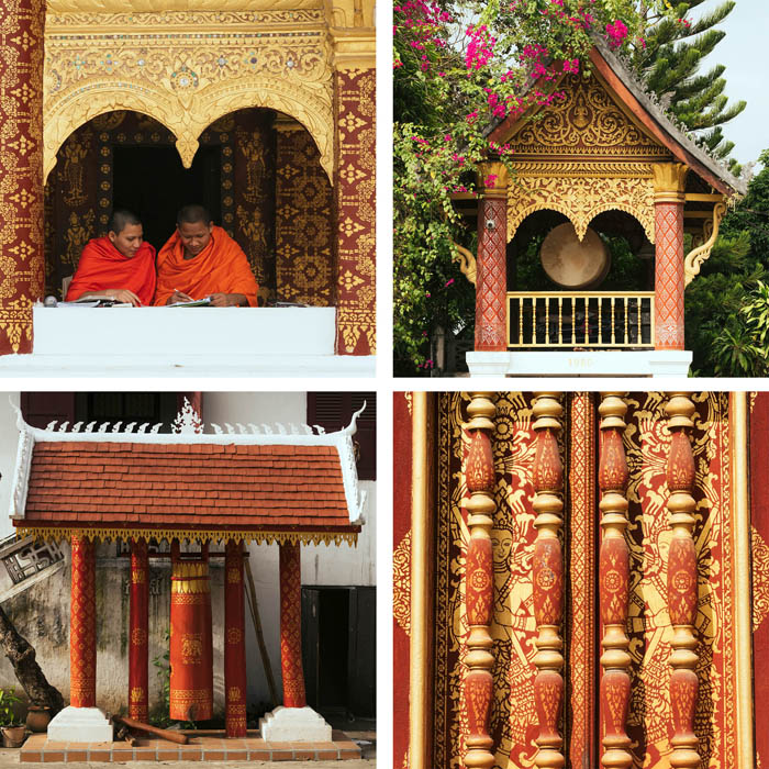 laos temple photography